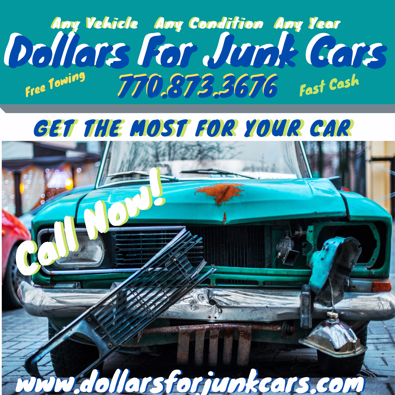 Junk Car Selling For On-spot Cash Getting Easier In