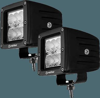 """Heise HE-CL32PK 18 Watts 10-30V DC 3/"""" 6 CREE LED Cube Light Kit"""
