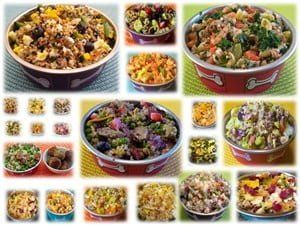 examples of meals