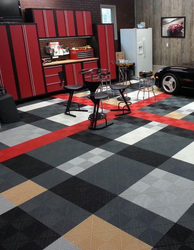 Swisstrax Tile Flooring By Closet Décor