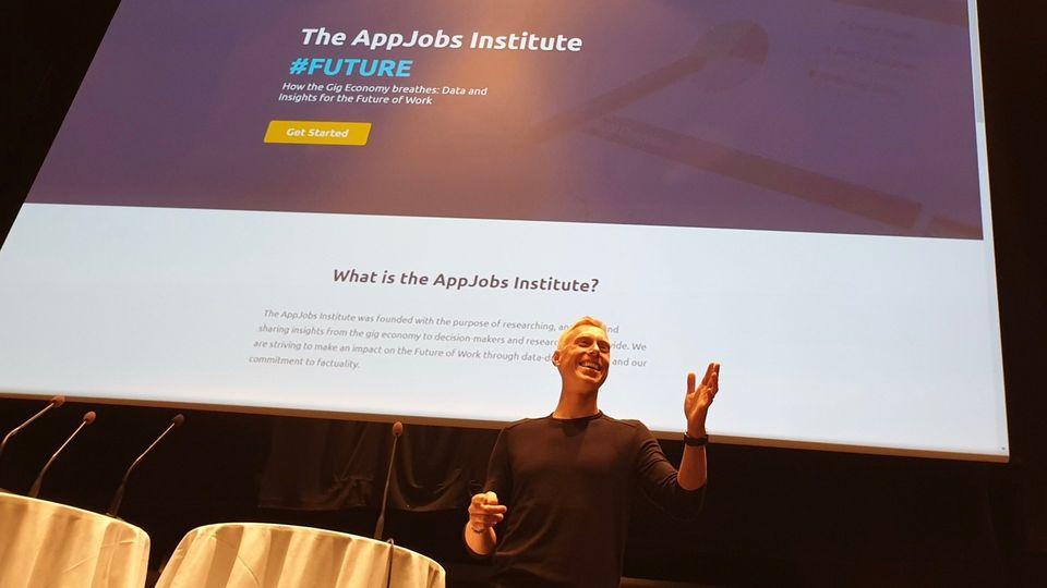 AppJobs Institute's President Tobias Porserud Keynote