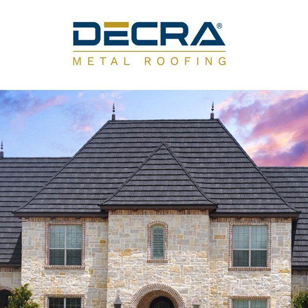 Decra Metal Roofing Products Original Stone Coated Steel Roofing