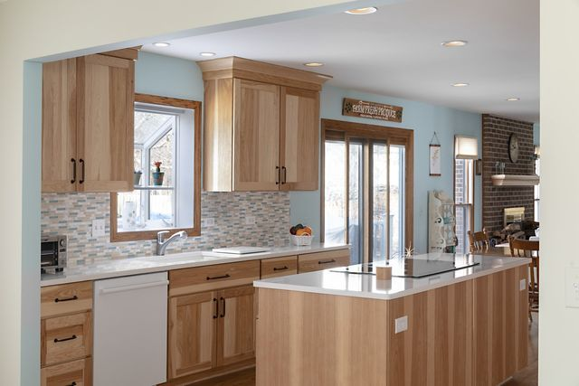 Hickory Kitchen Remodel In Arlington Heights