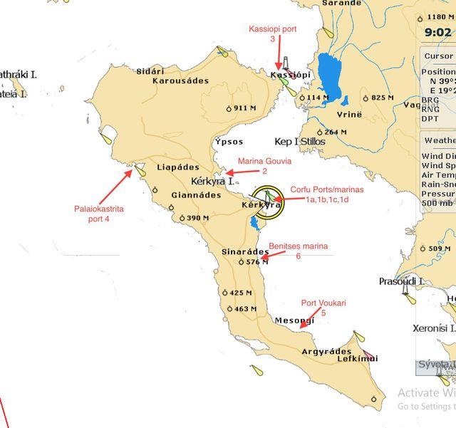 Diakopes Sthn Kerkyra A3io8eata Kerkyras Golden Greece