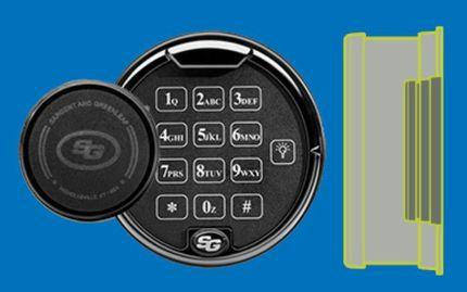 AxisBlu Bluetooth enabled lock system