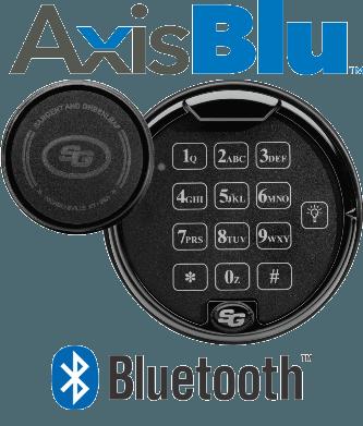 AxisBlu Bluetooth enabled safe lock