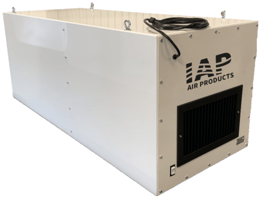 Dust Collection Duct Slide Ruler IAP Air Products