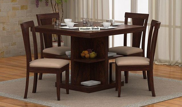Experience The Amenity And Artistry Of 4 Seater Dining Sets