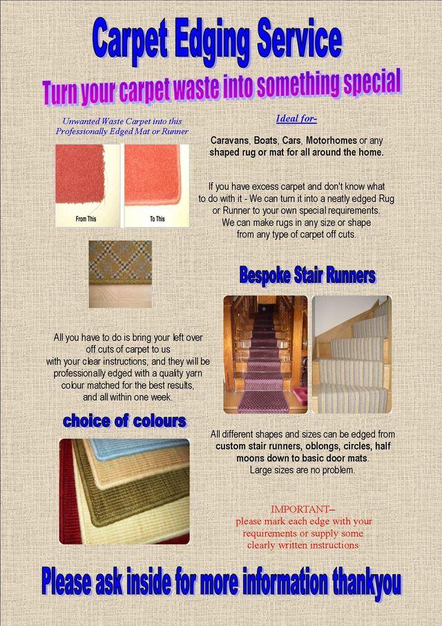 Carpet Edging Service In Goldthorpe