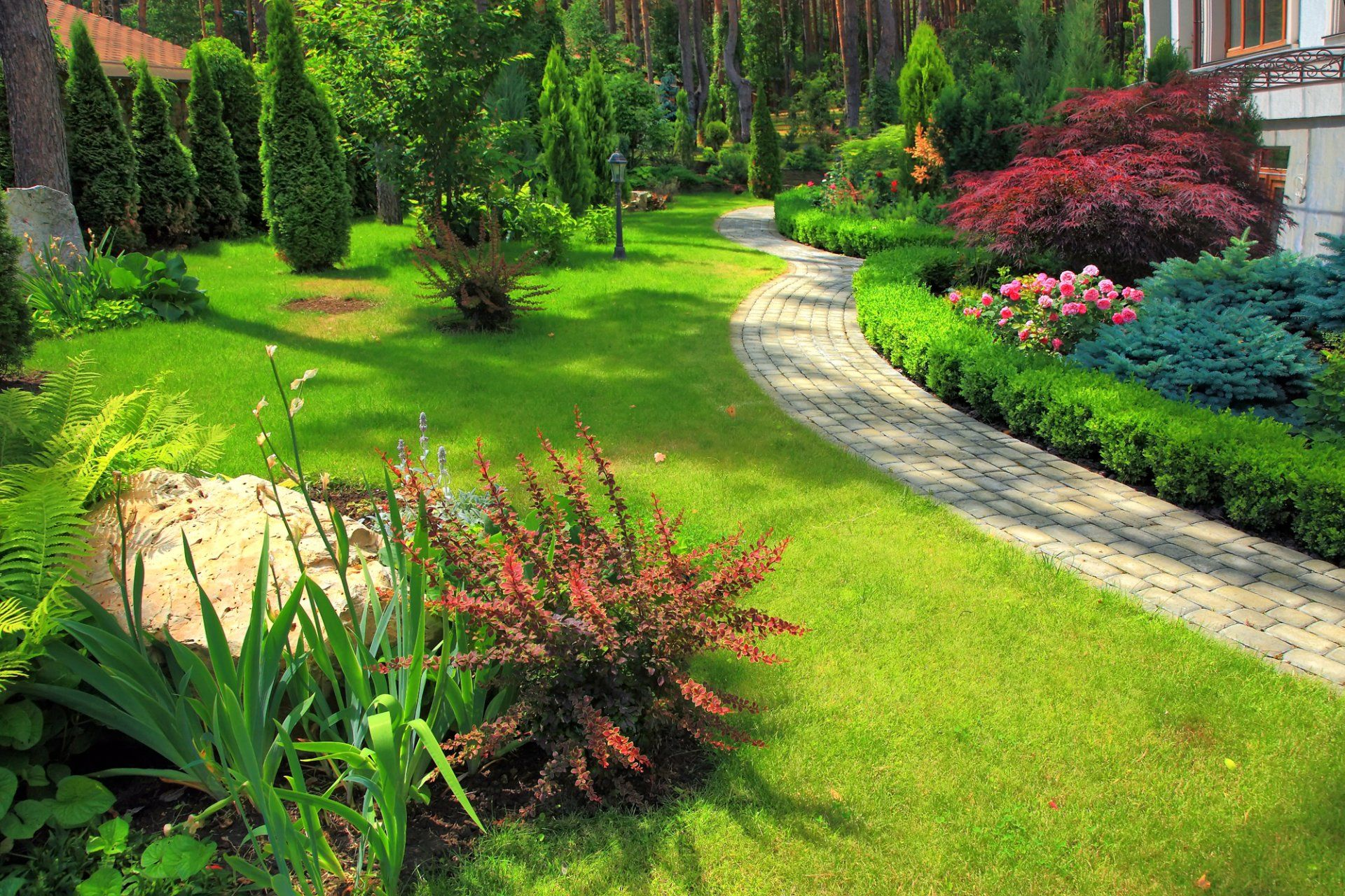 Landscaper In Sanford Nc Sweet Leaf Lawn Care