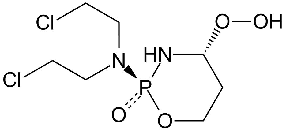 结构式4-羟过氧环磷酰胺,过磷酰胺